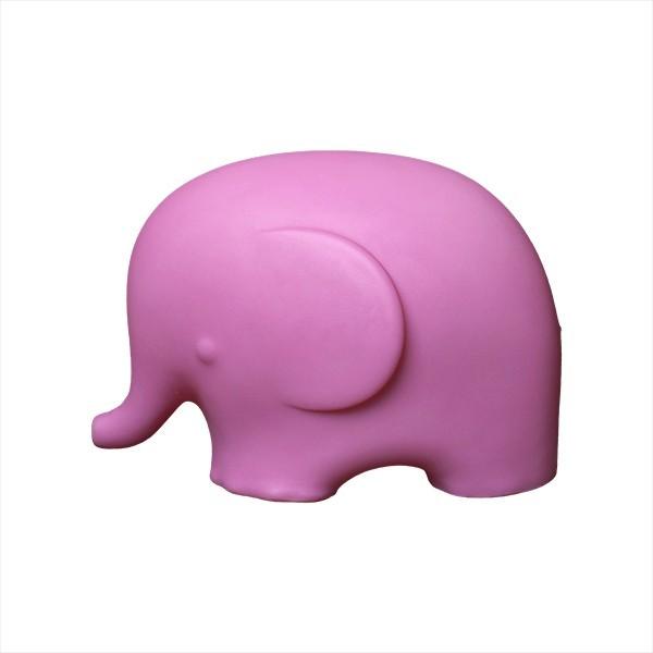 Luminária Elefante Rosa