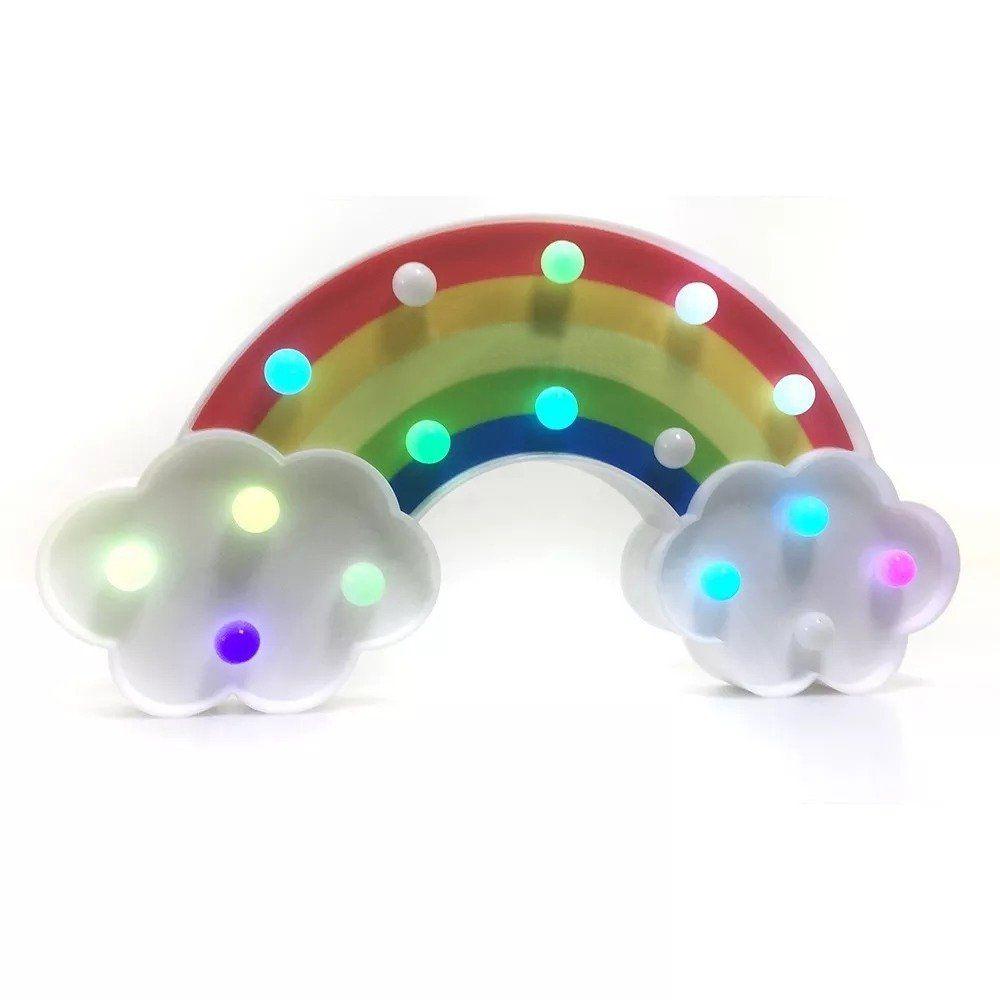 Luminária Enfeite LED Arco-íris