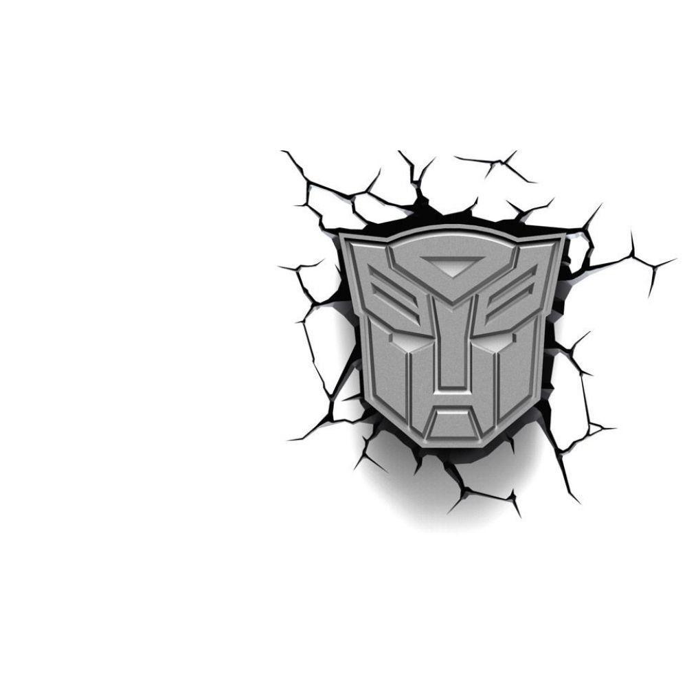 Luminária Escudo Autobots - 3D Light FX