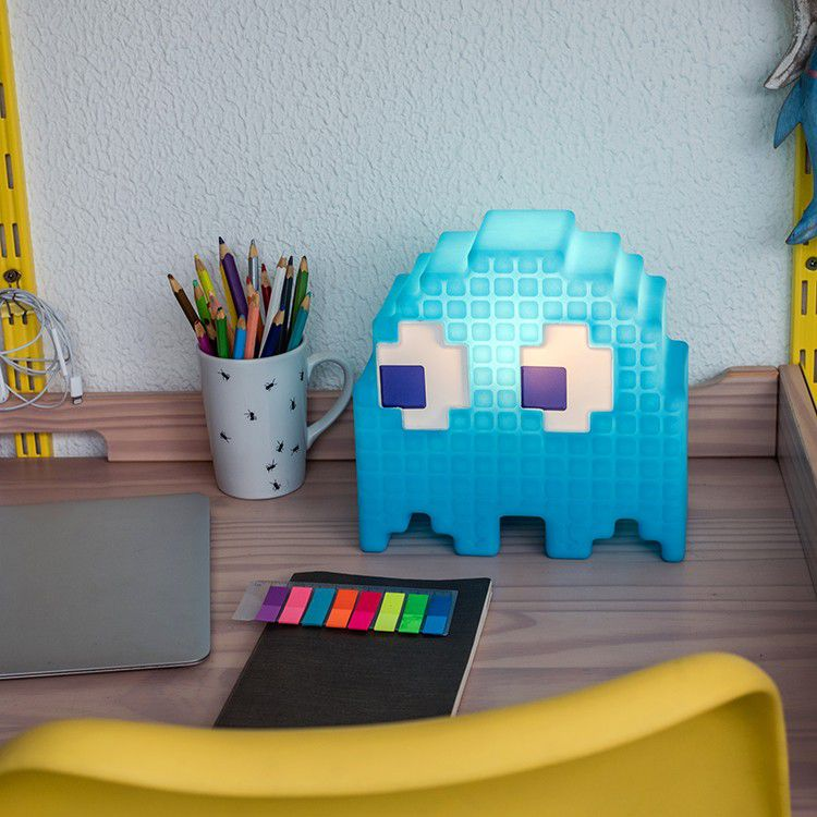 Luminária Fantasma (Azul): Pac-Man - EV
