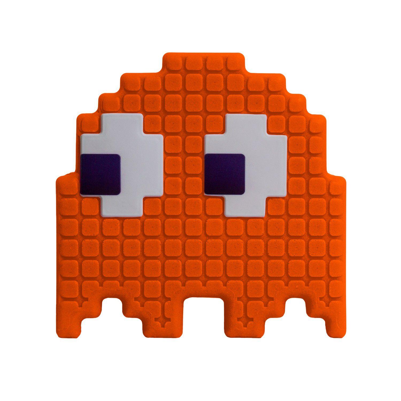 Luminária Fantasma (Laranja): Pac-Man