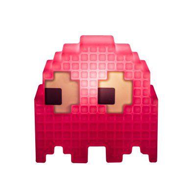 Luminária Fantasma (Rosa): Pac-Man