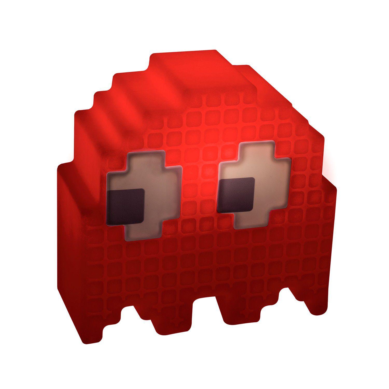 Luminária Fantasma (Vermelho): Pac-Man