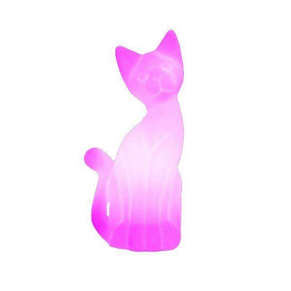 Luminária Gato Magrelo (Rosa)