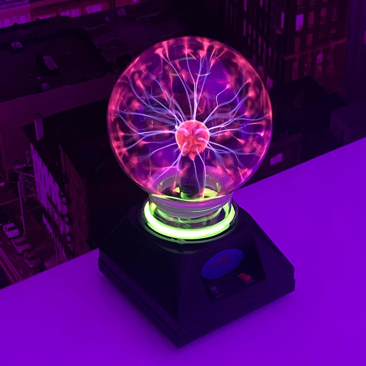 Luminária Globo Plasma Pequeno Plasma Light