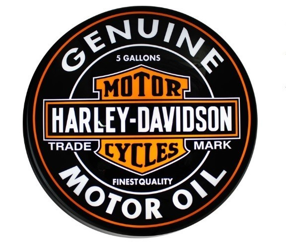 Luminária Harley Davidson