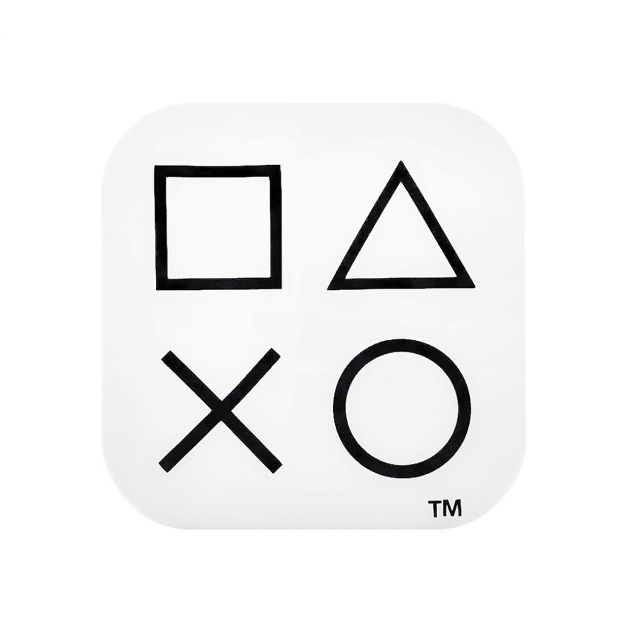 Luminária Ícones: Playstation (Branco)