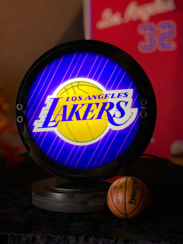 Luminária Lakers: NBA
