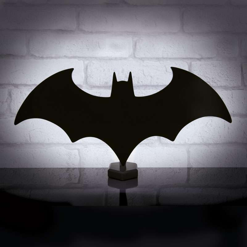 Luminária Logo Batman: DC Comics - Batsinal