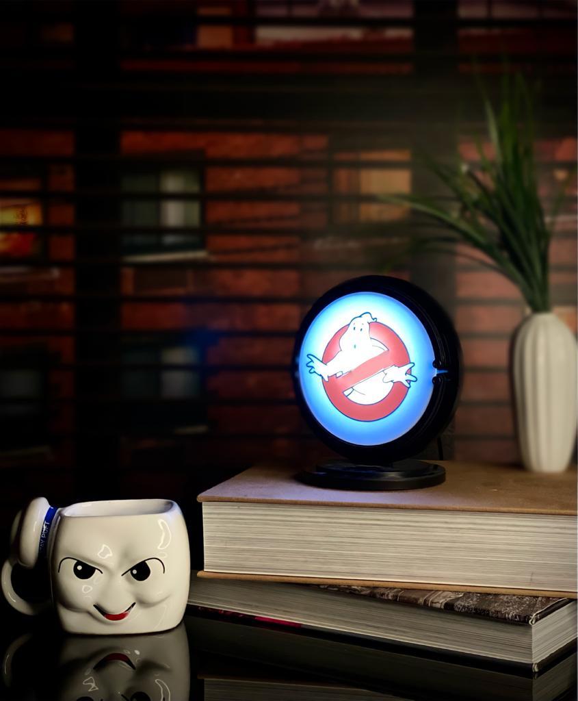 Luminária Logo Os Caça-Fantasmas (Ghostbusters)