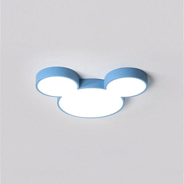 Luminária Lustre Mickey e Minnie: Disney Azul - EV