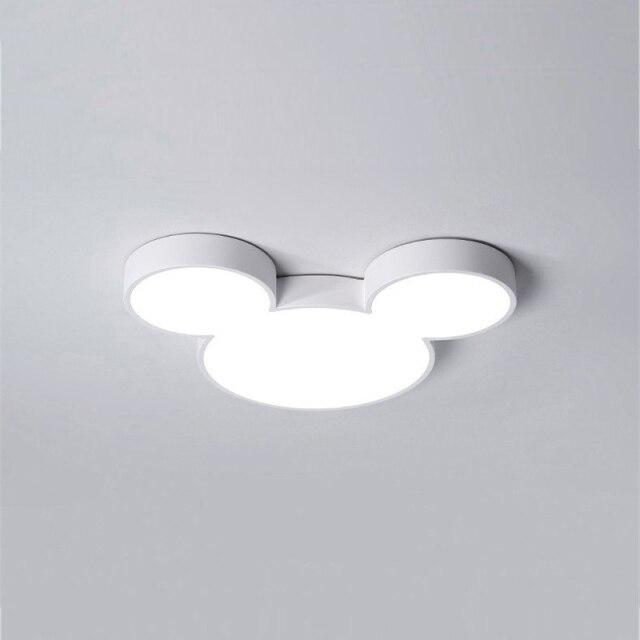 Luminária Lustre Mickey e Minnie: Disney Branco - EV