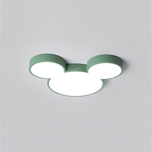 Luminária Lustre Mickey e Minnie: Disney Verde - EV