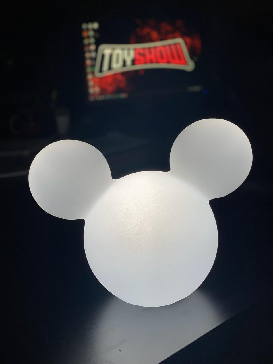 Luminária Mickey (Clean): Disney