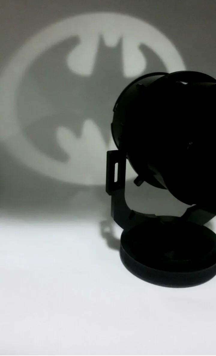 Luminária Bat Morcego - Bat Sinal - Batsinal