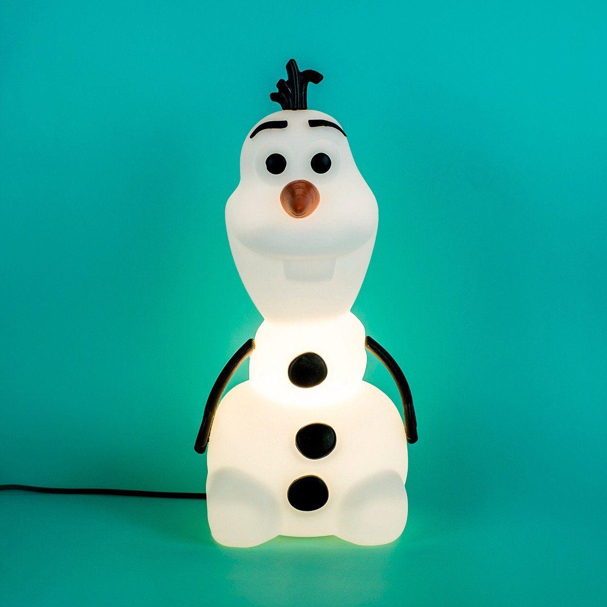 Luminária Olaf: Frozen (Disney)