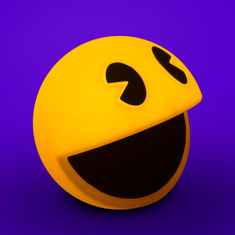 Luminária Pac-Man: Pac-Man