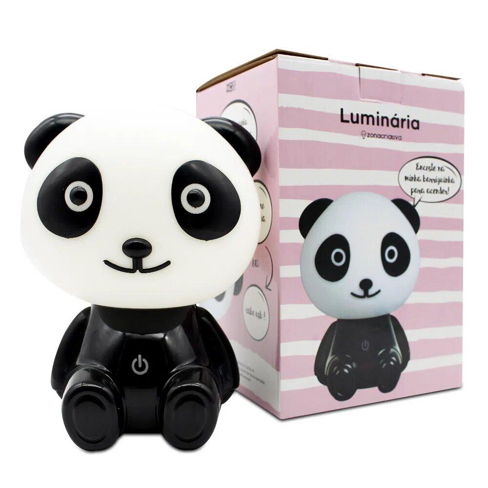 Luminária: Panda - Zona Criativa