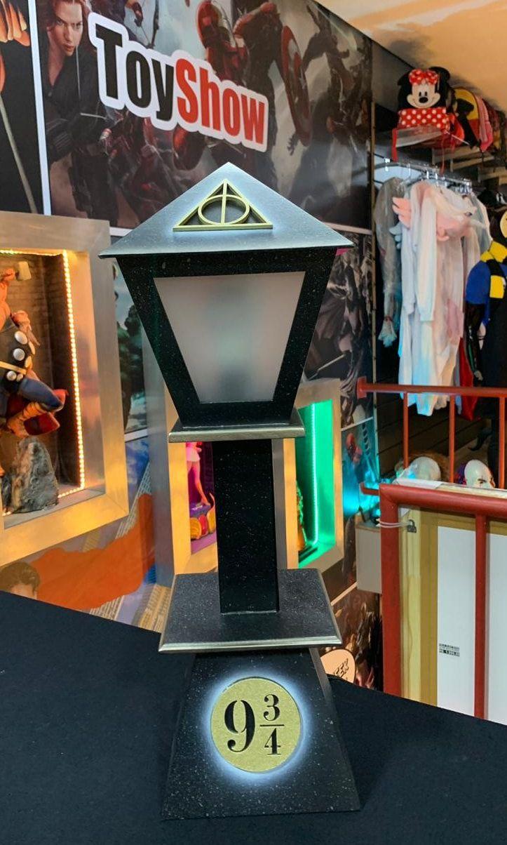 Luminária Poste 9 3/4: Harry Potter
