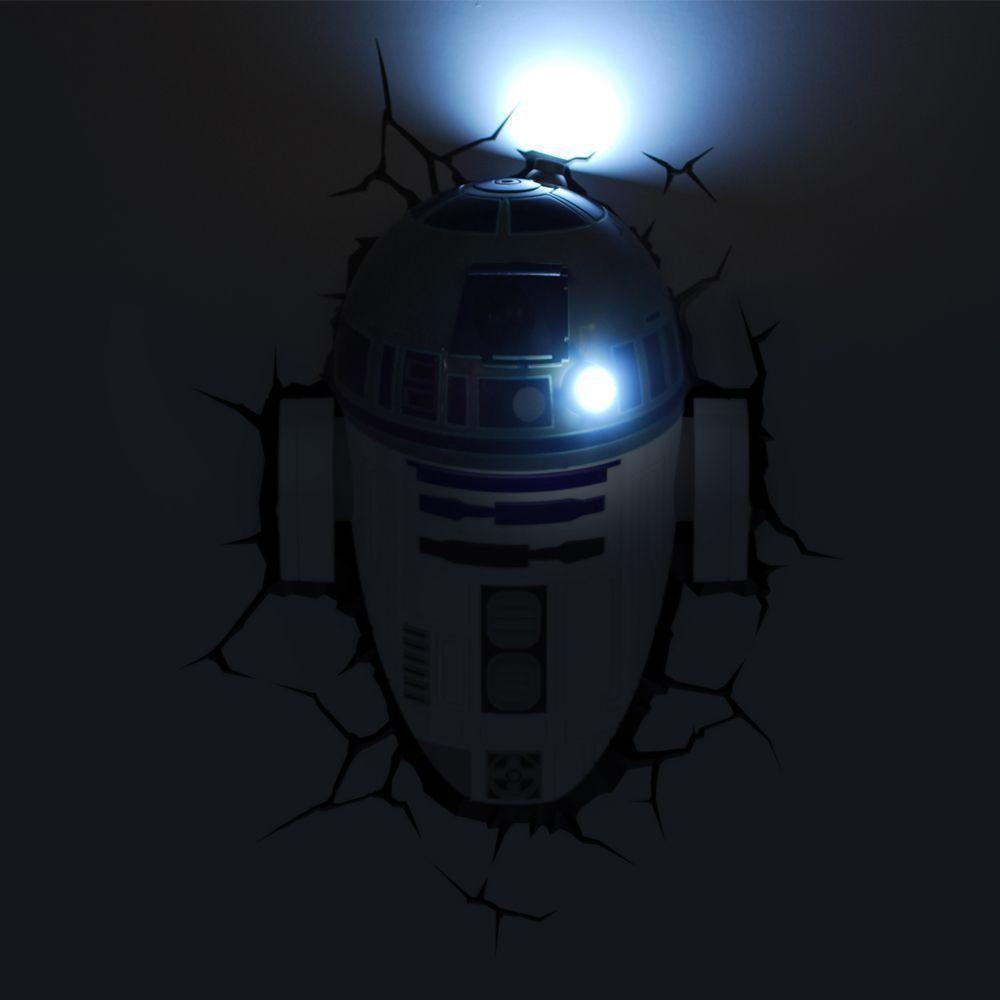 Luminária 3D R2-D2: Star Wars (Light FX)