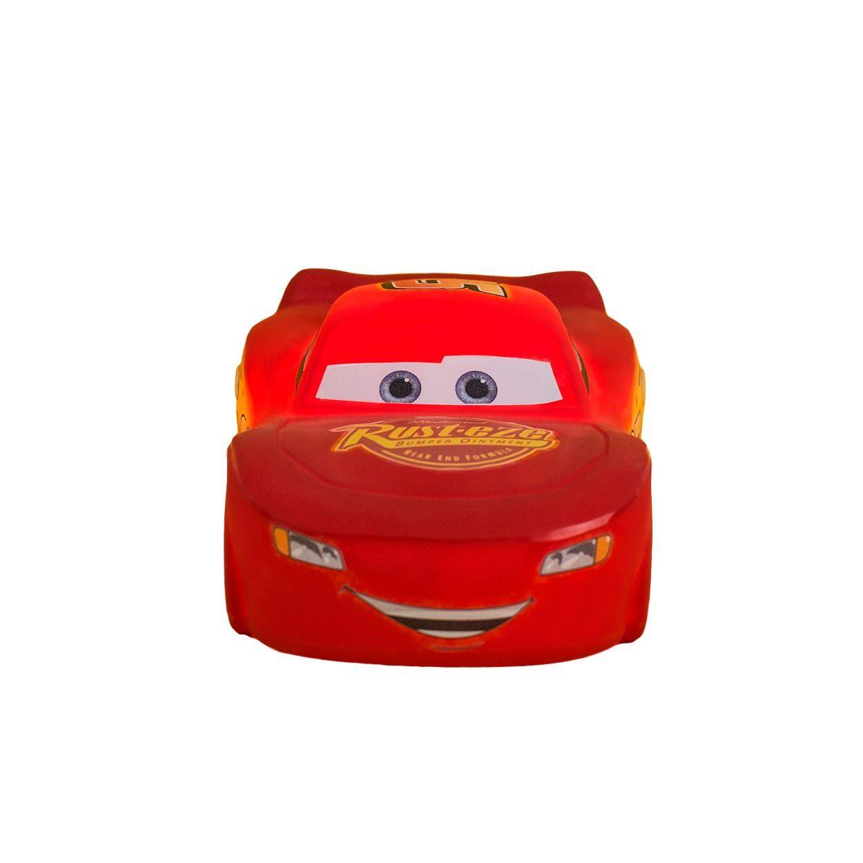 Luminária Relâmpago McQueen: Carros (Cars)