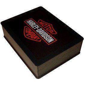 Luminária Retangular: Harley-Davidson