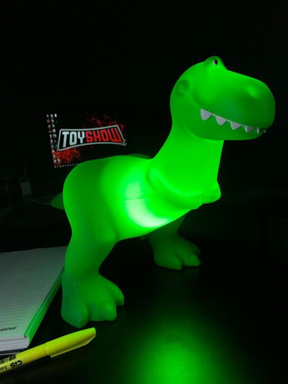 Luminária Rex: Toy Story (Disney)