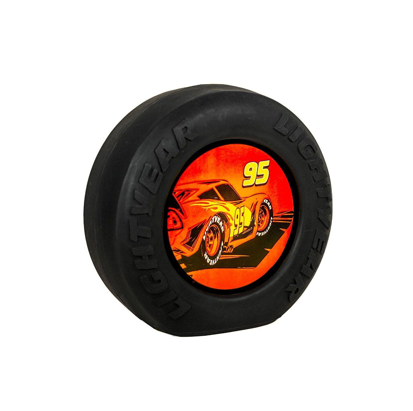 Luminária Roda Relâmpago McQueen: Carros (Cars)