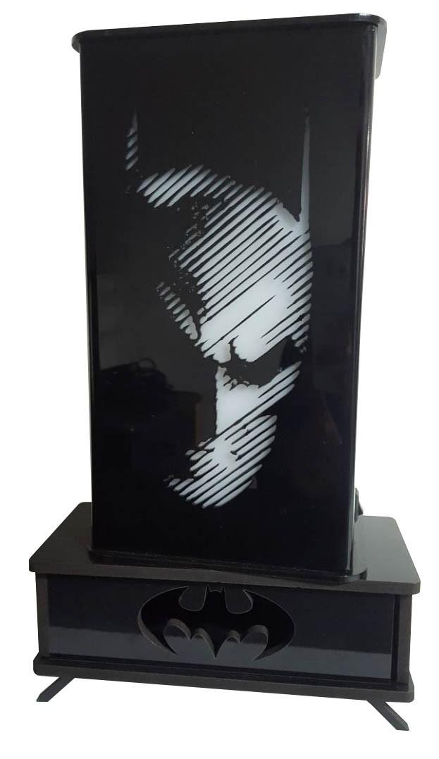 Luminária Rosto Batman