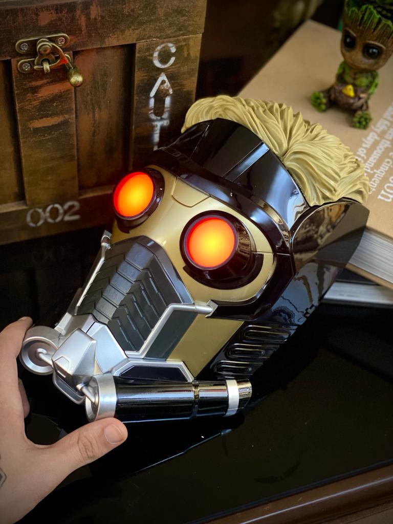 Luminária Senhor das Estrelas (Star-Lord): Guardiões da Galáxia - 3D ligtht FX