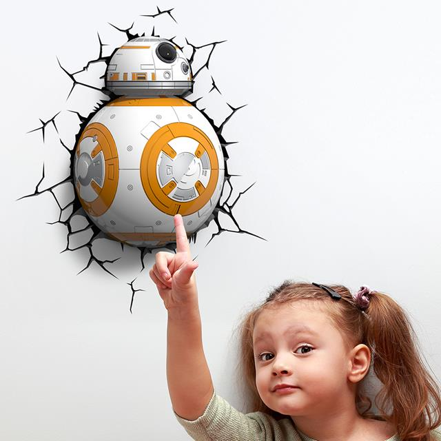 Luminária 3D BB-8: Star Wars (Light FX)