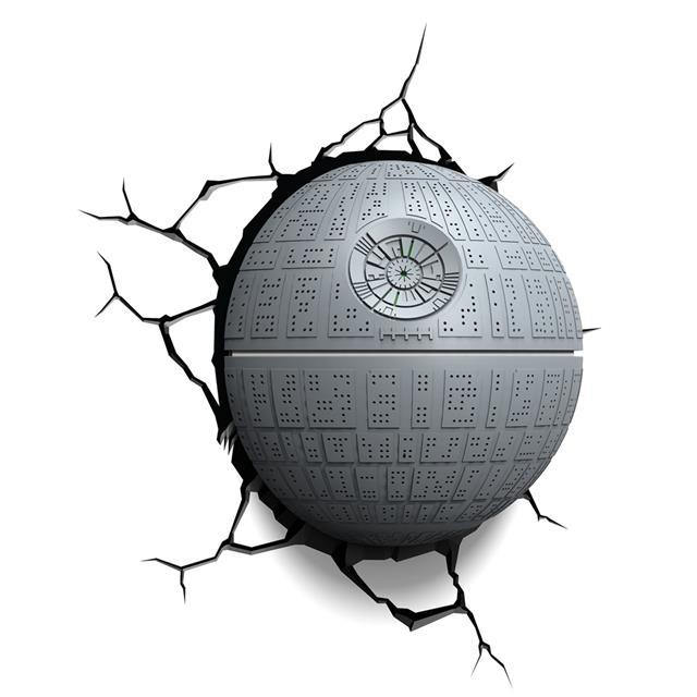 Luminária 3D Estrela da Morte (Death Star): Star Wars (Light FX)