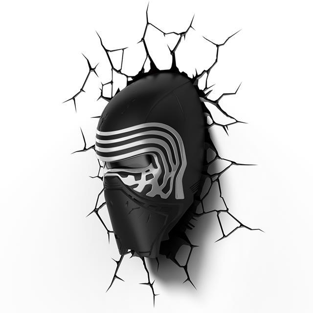 Luminária 3D Kylo Ren: Star Wars (Light FX)