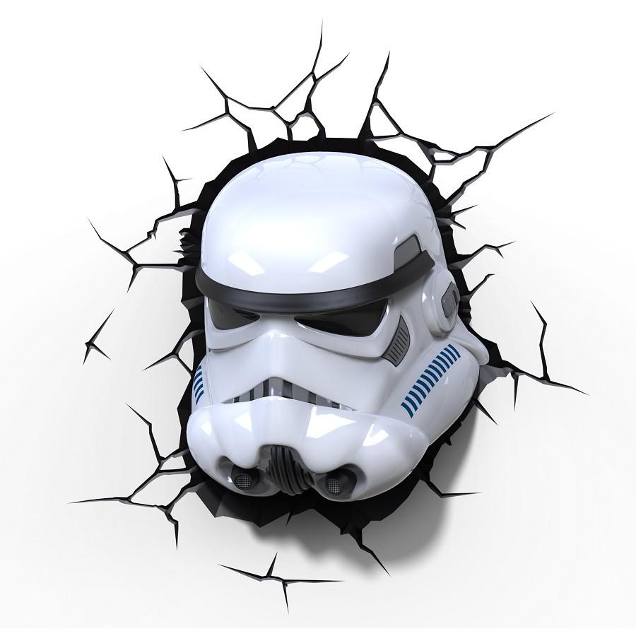 Luminária Star Wars Stormtrooper - 3D Light FX (SEM CAIXA E PEQUENOS ARRANHOES)