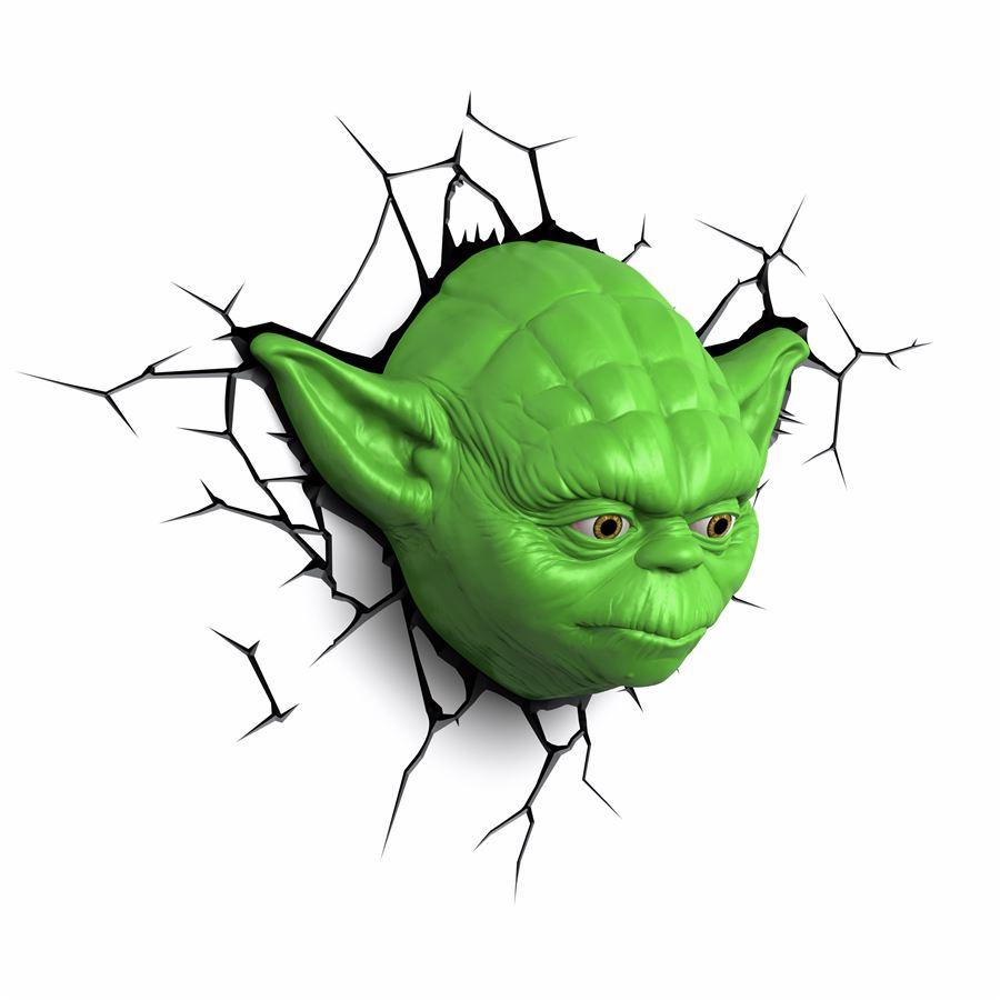 Luminária Star Wars Yoda - 3D ligtht FX