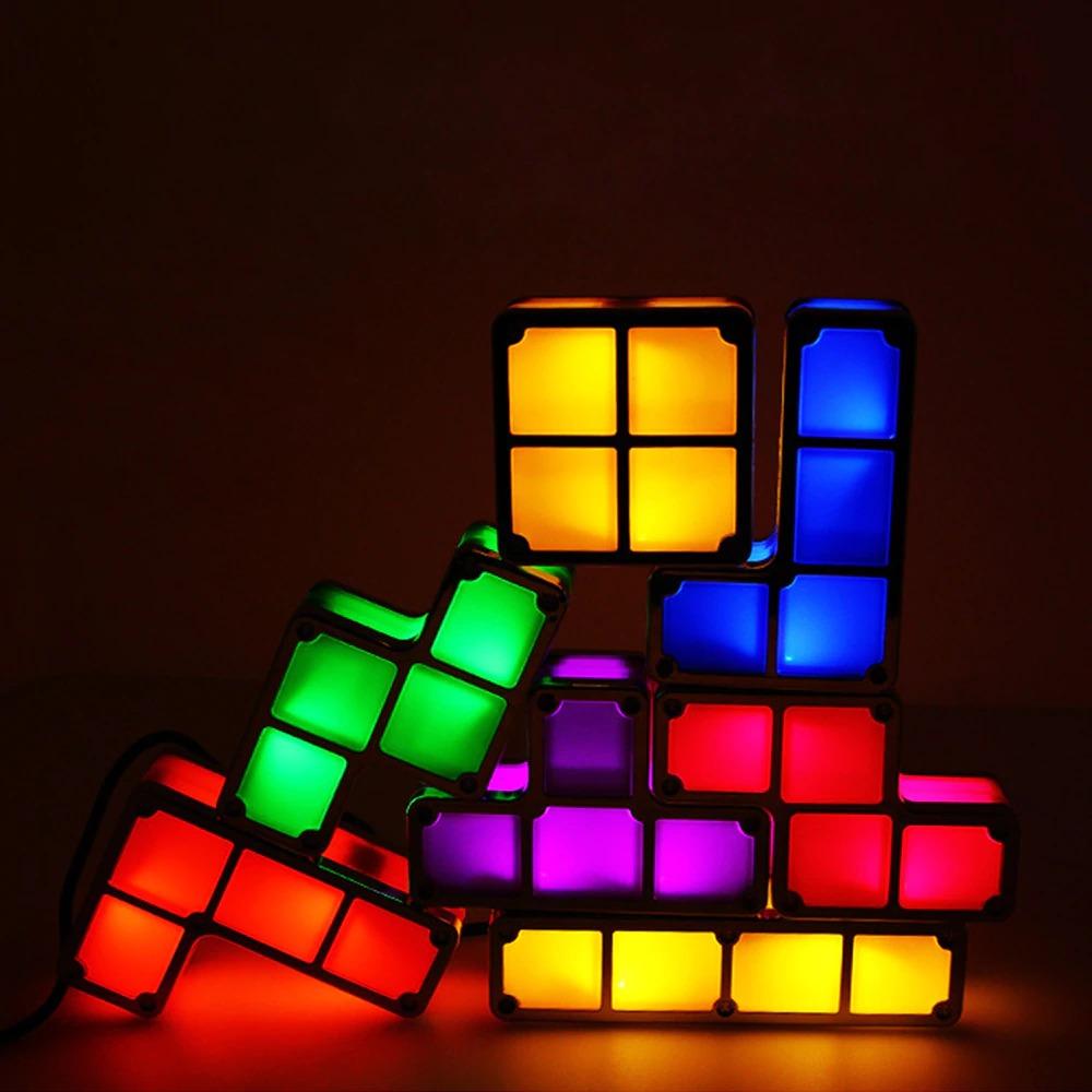 Luminária Tetris Led Exclusiva - EVALI
