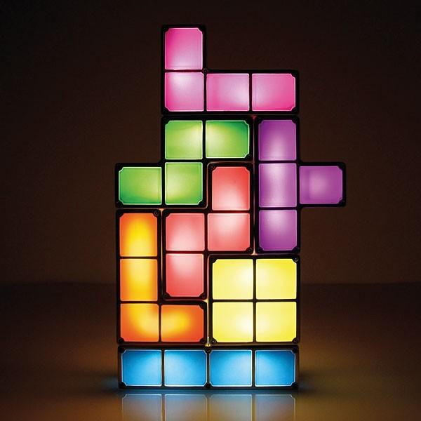 Luminária Tetris