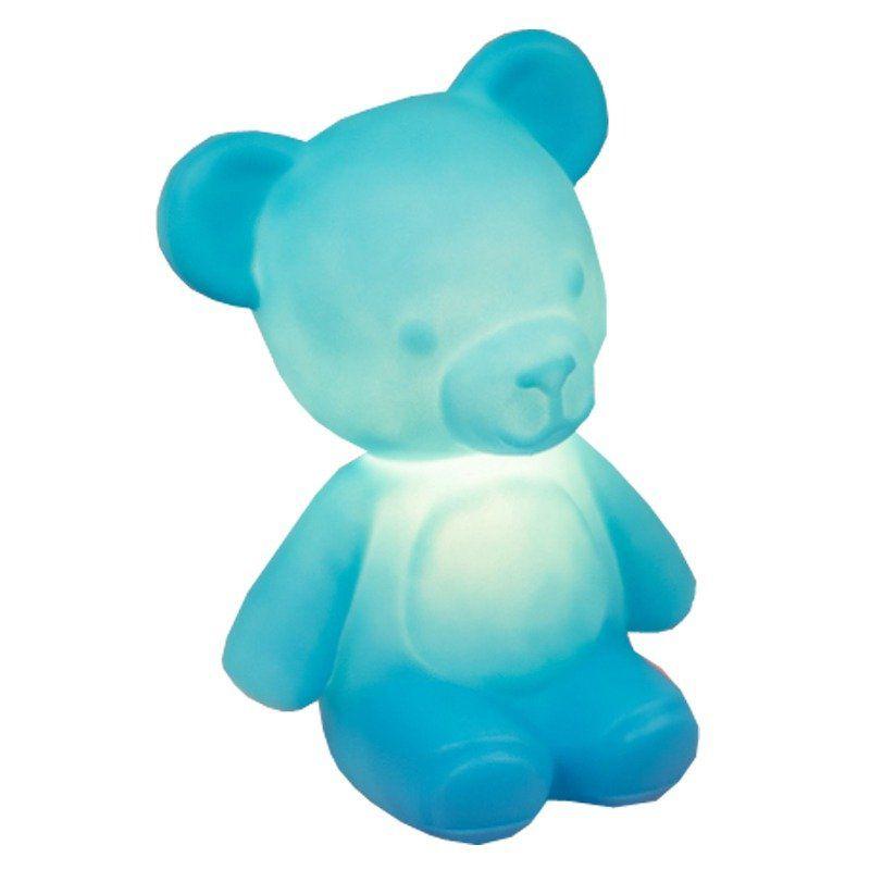 Luminária Ursinho Teddy (Azul)
