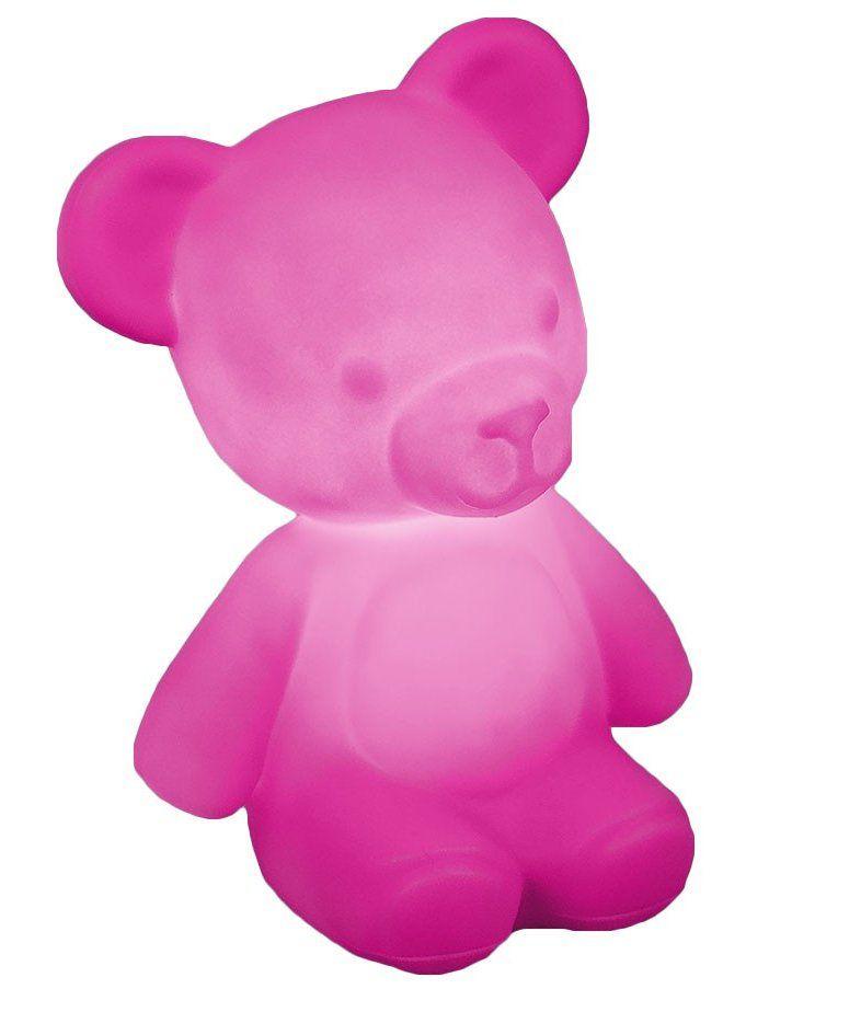 Luminária Ursinho Teddy (Rosa)