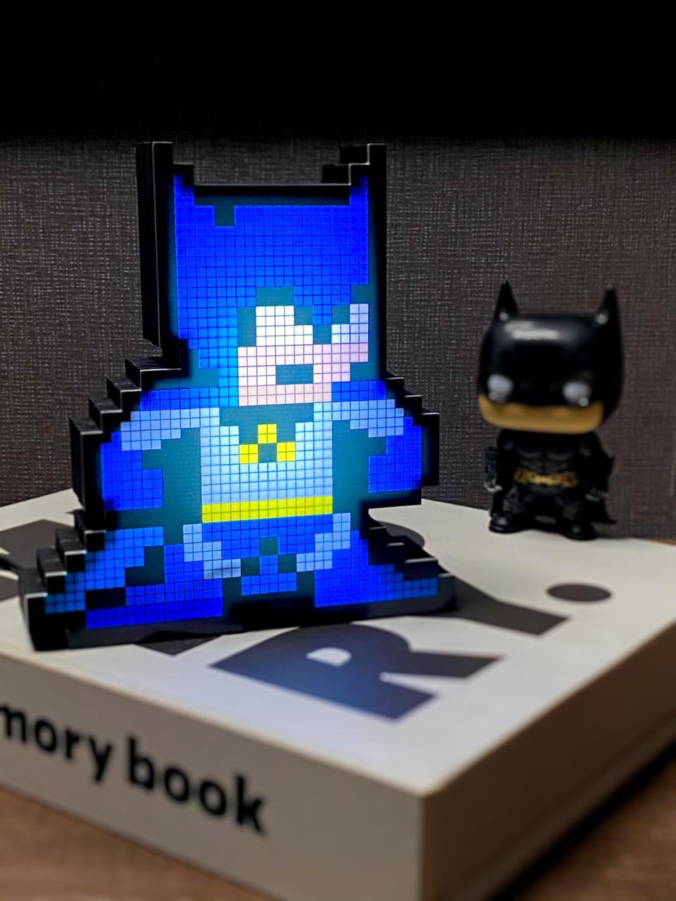 Luminoso Pixel Pals: Batman Dc Comics