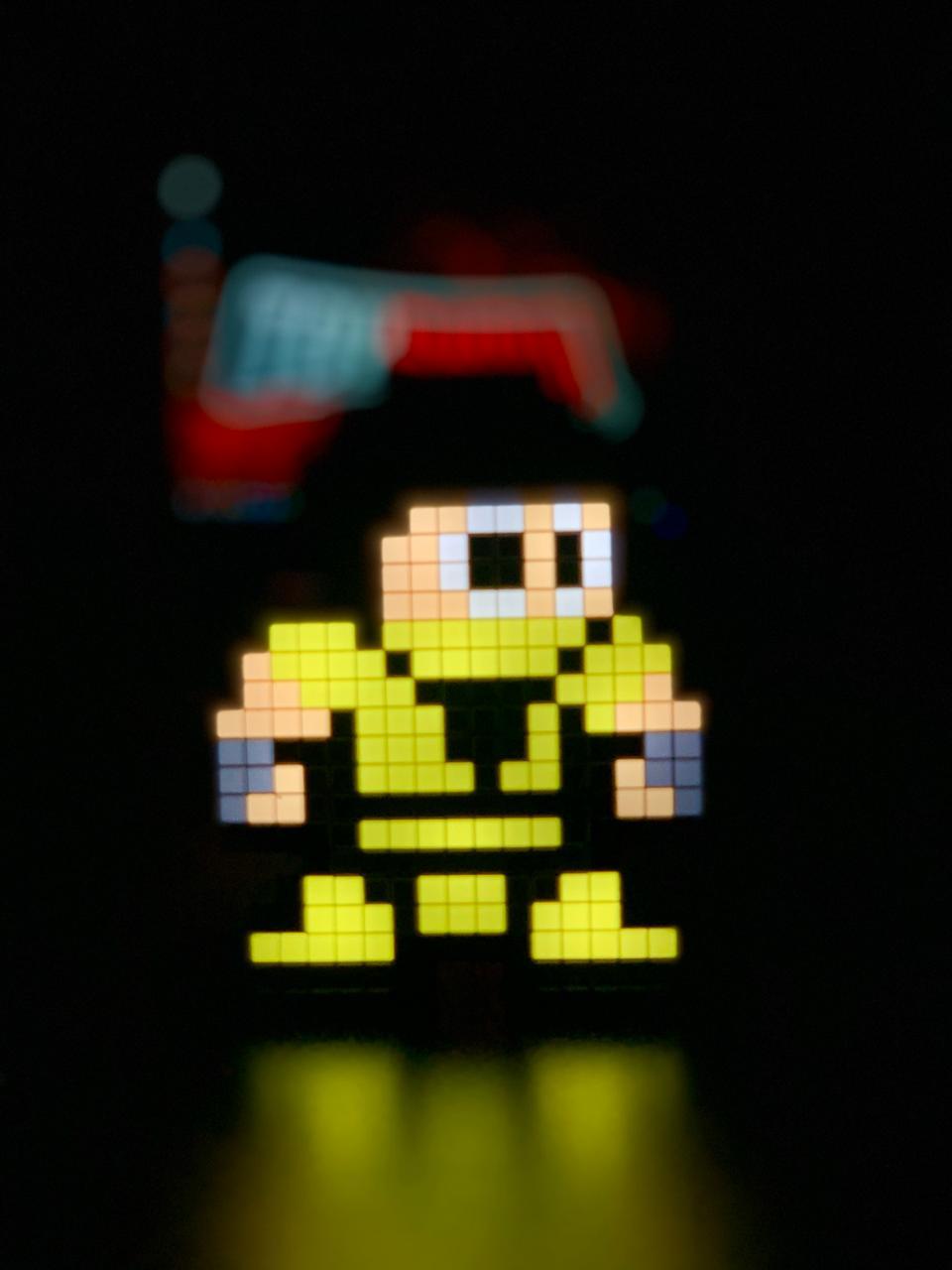 Luminoso Pixel Pals Scorpion: Mortal Kombat Klassic #043 - PDP