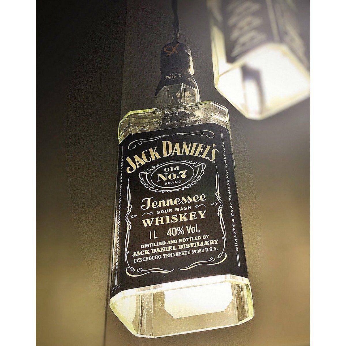 Lustre de 1 Garrafa de Jack Daniel's