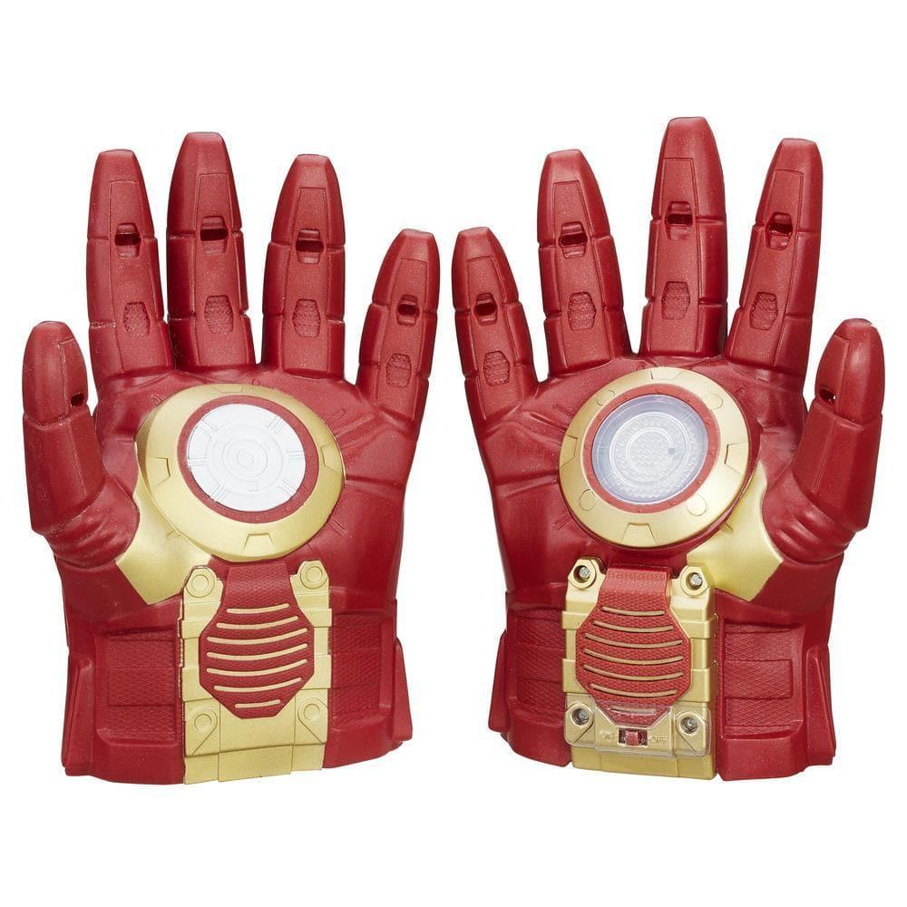 Luva com Luz e Efeitos Sonoros Homem de Ferro (Iron Man)