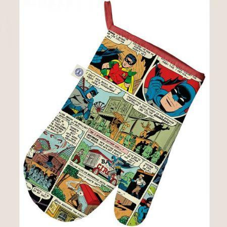 Luva de Forno/Cozinha DC Quadrinhos Coloridos