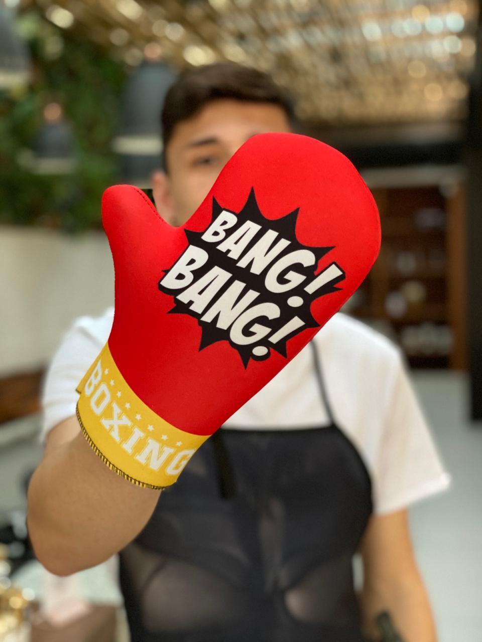 Luva de Forno/Cozinha: Boxing (Bang! Bang!)