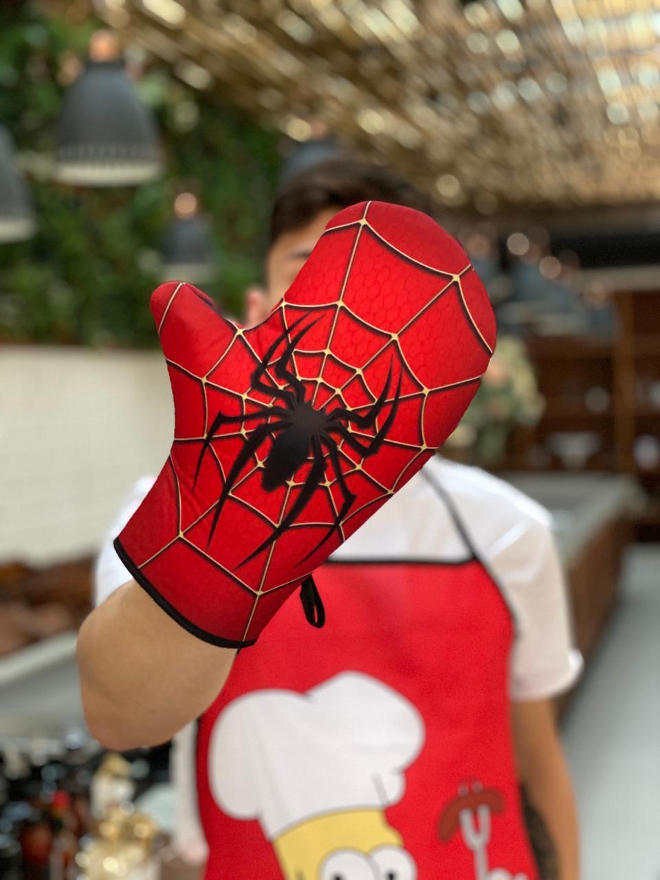 Luva de Forno/Cozinha Homem-Aranha (Spider-Man): Marvel