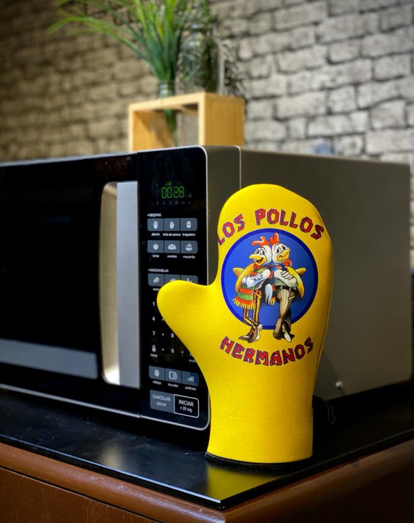 Luva de Forno/Cozinha Los Pollos Hermanos: Breaking Bad - EV