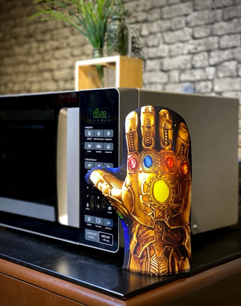 Luva de Forno/Cozinha: Manopla Do Infinito - EV