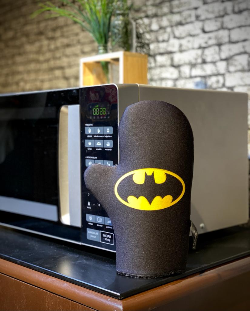 Luva de Forno/Cozinha Personagens: Batman