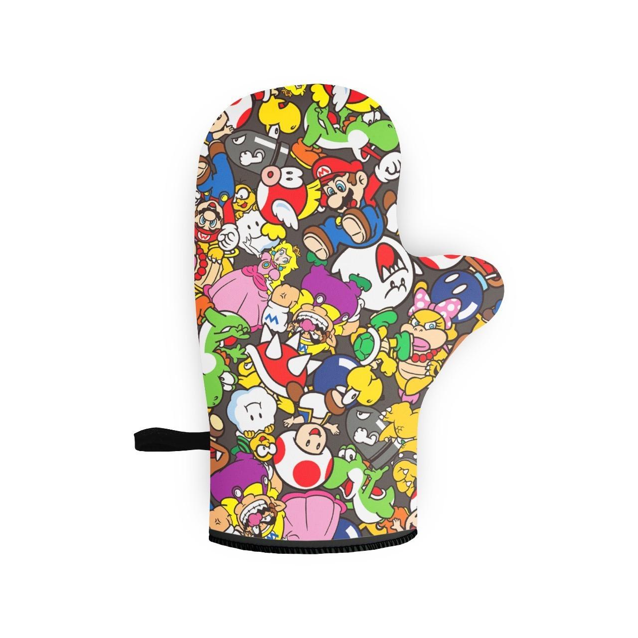 Luva de Forno/Cozinha Personagens: Super Mario Bros